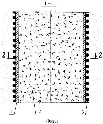Трубобетонный элемент круглого поперечного сечения с предварительно напряженной оболочкой