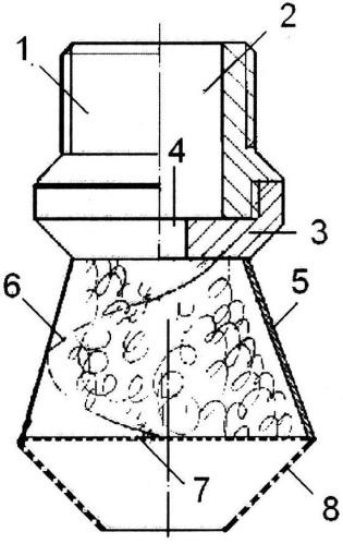 Комбинированный рассекатель потока жидкости