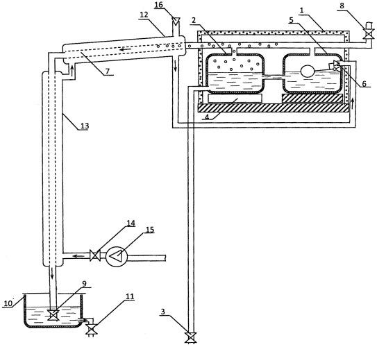 Устройство для получения дистиллированной воды