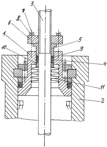 Сильфонно-графлексное уплотнение штока арматуры с сухим трением скольжения