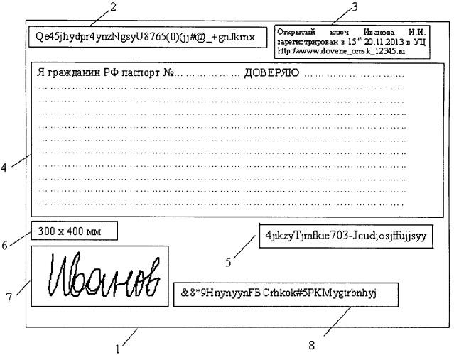 Способ формирования электронного документа и его копий
