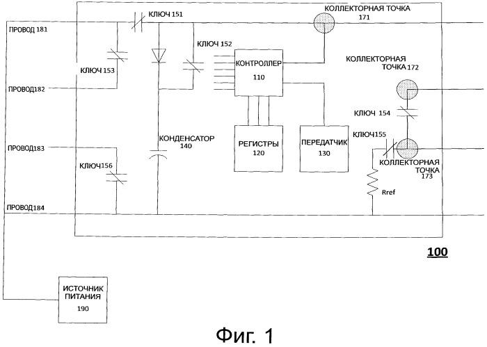 Обнаружение протечек с использованием измерительного кабеля, получающего питание и передающего данные по радио
