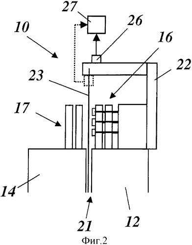 Электрическая машина с одним ротором и одним статором и устройством контроля воздушного зазора между ротором и статором