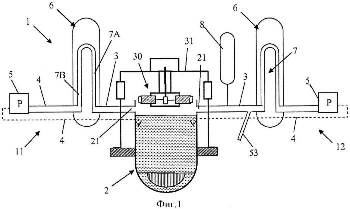Способ наполнения водой основного контура ядерного реактора и соединительное устройство для внедрения указанного способа