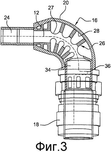 Элемент электрического соединения турбомашины