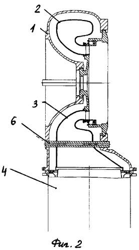 Способ монтажа внутренних вставок корпуса турбины газоперекачивающего агрегата