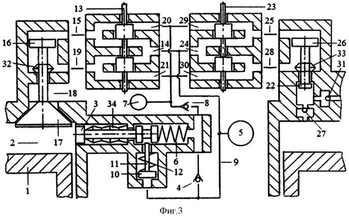 Способ реверсирования вращения вала двигателя