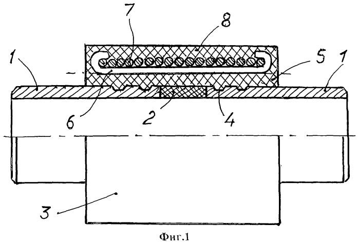 Вставка электроизолирующая трубная