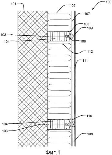 Система дополнительной изоляции и способ изоляции фасада