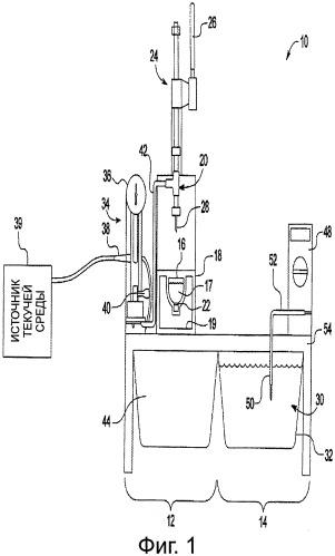 Устройство для определения целостности герметизации контейнера и способ его применения