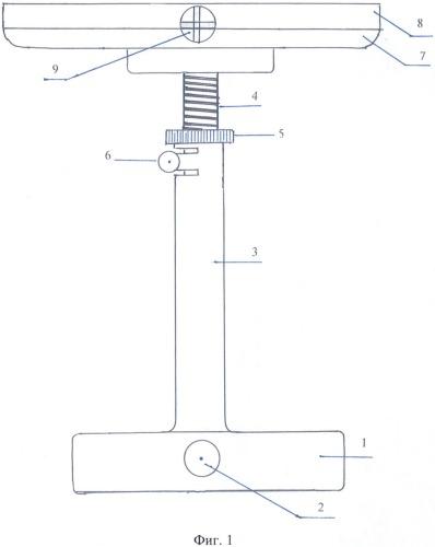 Оптический юстировочный столик для приборов с повышенной массой