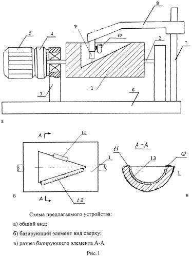 Устройство для определения профиля материалов в деформированном состоянии