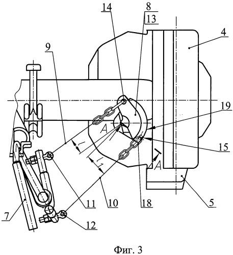 Расцепной привод автосцепного устройства железнодорожного транспортного средства