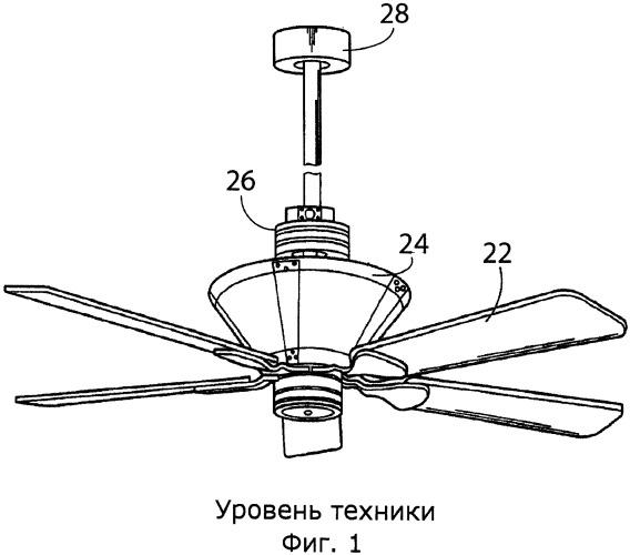Центробежный потолочный вентилятор
