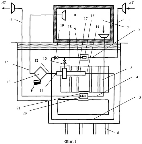 Система гелиотеплохладоснабжения с качественным воздухообменом в зданиях