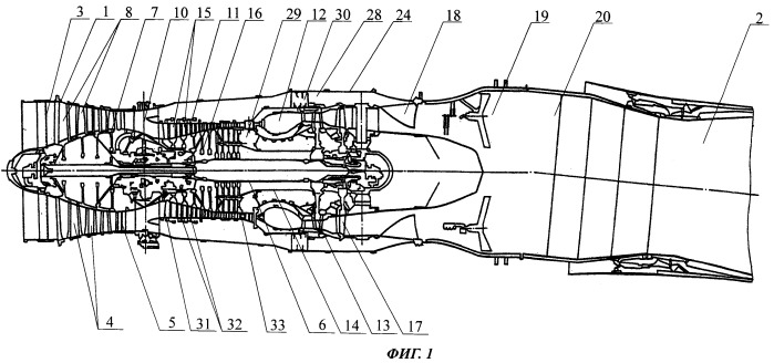 Способ серийного производства турбореактивного двигателя и турбореактивный двигатель, выполненный этим способом