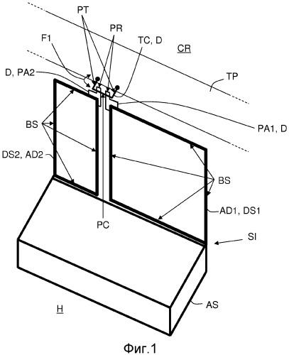 Устройство для одновременного блокирования поворотов двух соседних спинок сиденья автомобильного транспортного средства