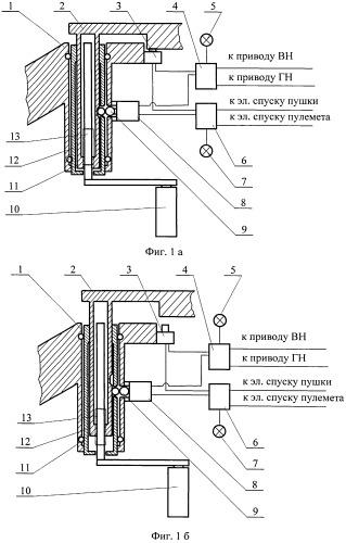 Устройство для обеспечения работоспособности вооружения и безопасности работы экипажа военной гусеничной машины