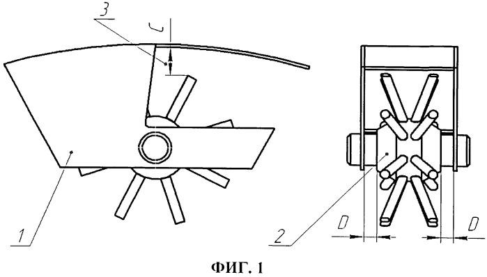 Катушечно-вильчатый высаживающий аппарат для посадки луковичных культур