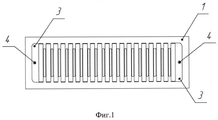 Матрица лазерных диодов и способ ее изготовления