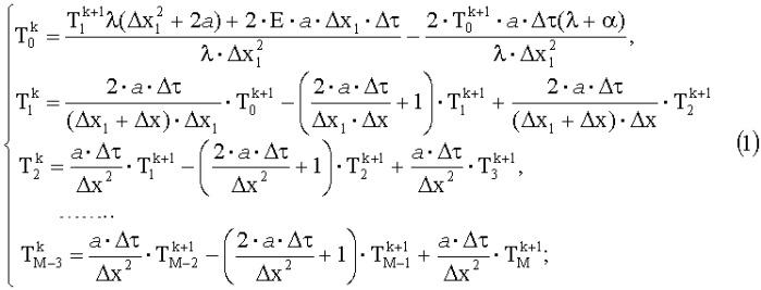 Способ определения комплекса теплофизических параметров изотропных материалов