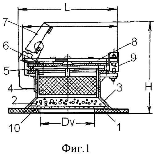 Взрывозащитное устройство кочетова с индикатором безопасности на разрывном элементе