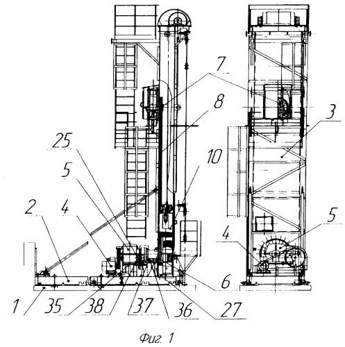 Привод цепной для скважинного штангового насоса