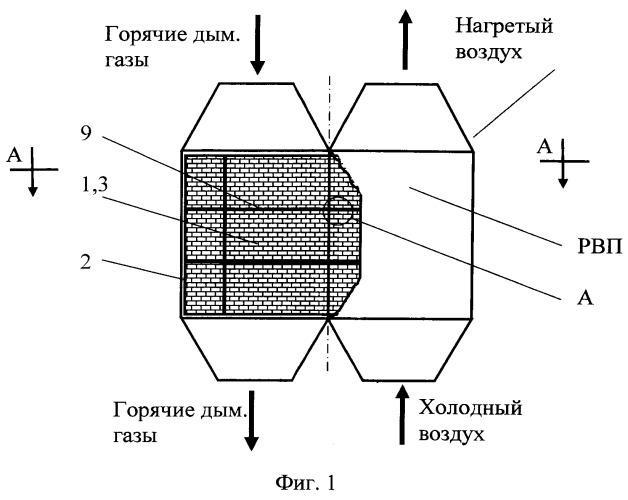 Насадка для регенеративного роторного воздухоподогревателя