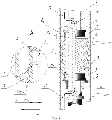 Способ и устройство для очистки каналов перфорации и призабойной зоны пласта условно бесконечной толщины