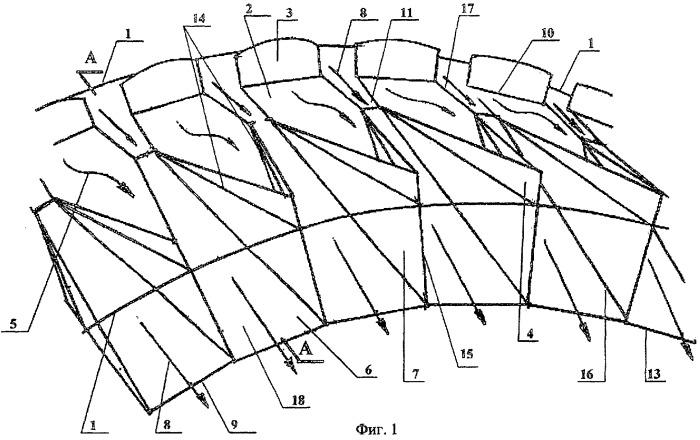 Регулируемый смеситель для изменения степени двухконтурности турбореактивного двухконтурного двигателя