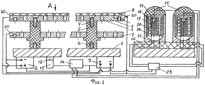 Электроразрядная защита с магнитокумулятивным генератором