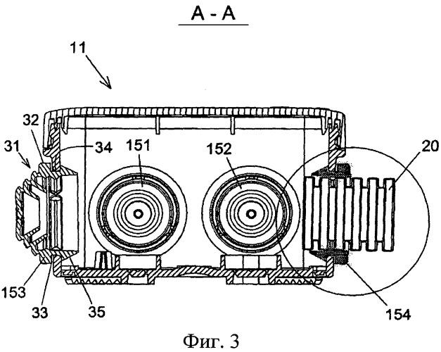Изоляционная втулка для гибкой трубки в монтажной коробке