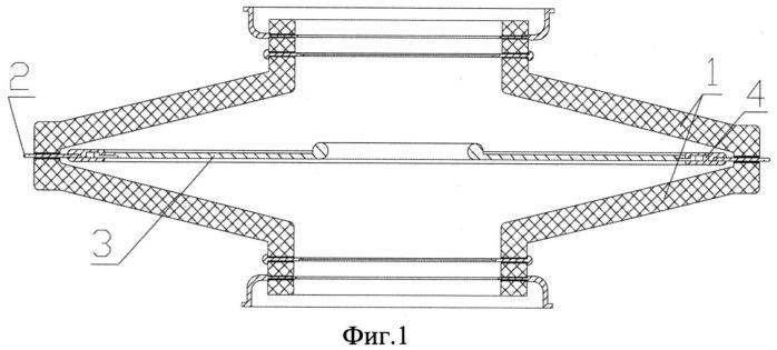 Осесимметричный изоляторный узел нейтронной трубки