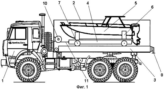 Спуско-подъёмное устройство