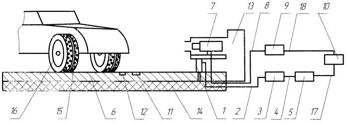 Устройство для определения наличия шипованных шин на автомобиле