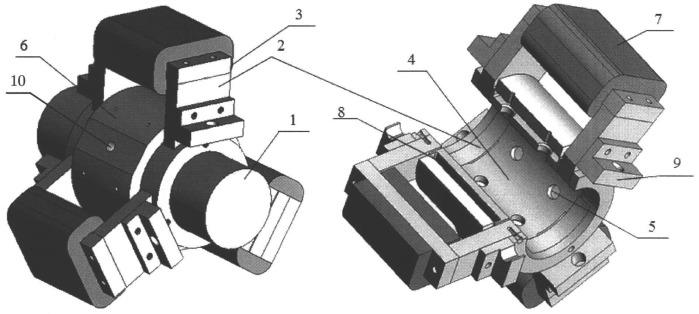 Способ работы управляемого газомагнитного подшипникового узла и подшипниковый узел