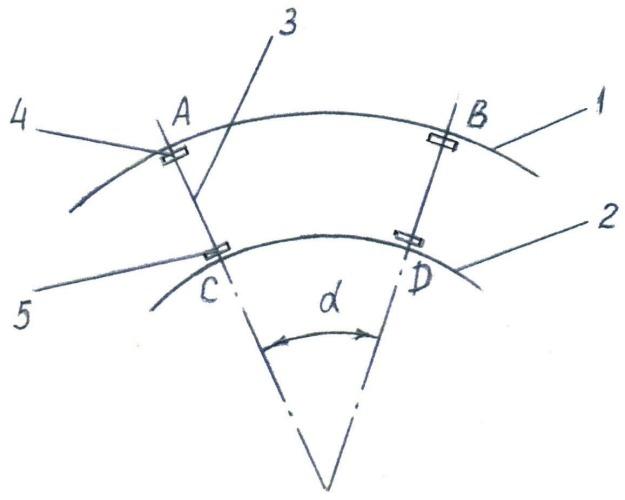 Способ текущего содержания кривого участка пути в плане (варианты)