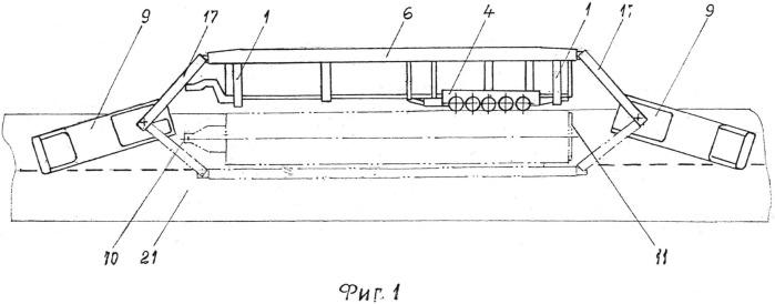 Устройство для подъема аварийного опрокинутого транспортного средства