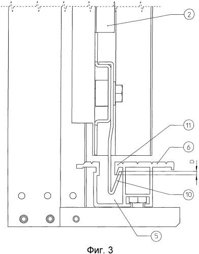 Устройство предотвращения схода с направляющих для створок дверей лифта или подъемника
