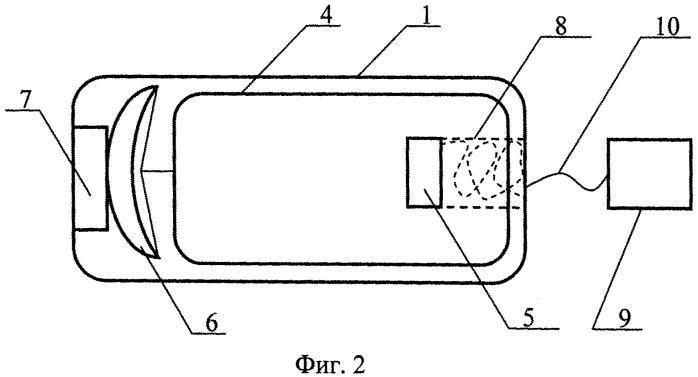 Надувной отражатель с реактивным двигателем (варианты)