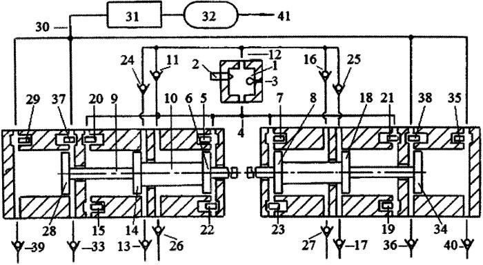 Ступенчатый способ сжатия газа группой свободнопоршневых с оппозитным движением поршней энергомодуля, соединенных с поршнями компрессора сжатия газов
