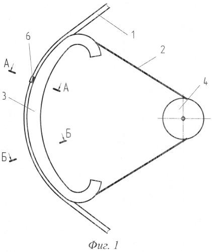 Ременный привод тягового каната