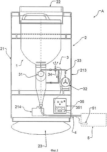 Устройство для автоматической подачи тонера в тонер-картридж