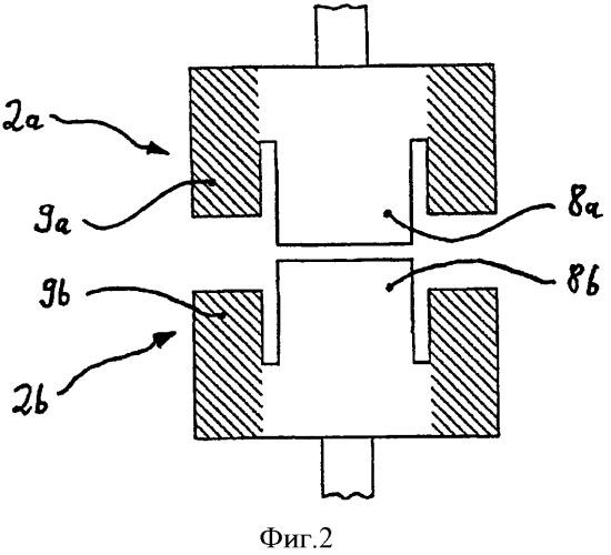Конфигурация электрических контактов для вакуумного выключателя