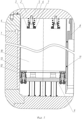 Контейнер для транспортировки отработавшего ядерного топлива реактора рбмк-1000