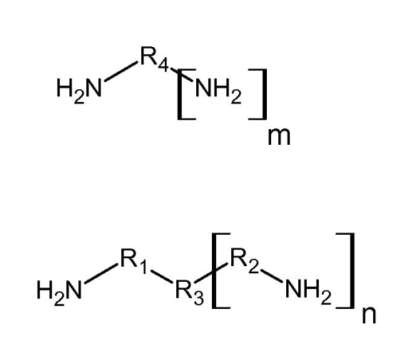 Композиция на основе натурального каучука и полиаминового соединения
