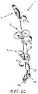 Препятствущая перекручиванию трансмиссионная и направляющая система для тросов