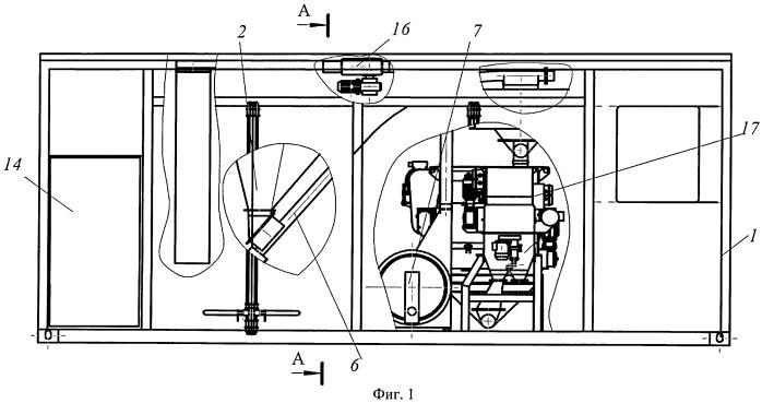 Мобильная установка для приготовления кормолекарственных смесей