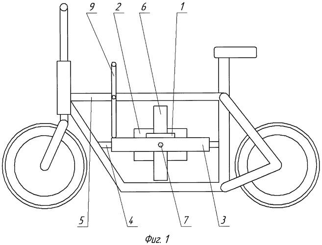 Гиростабилизатор двухколесного одноколейного транспортного средства