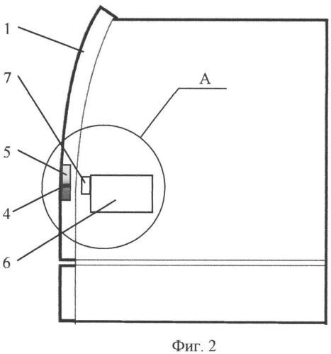 Конструкция и конфигурация области лицевой панели банкомата/терминала/ устройства самообслуживания, расположенной перед считывателем карт (карт-ридером)